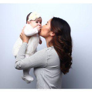 Mamma och baby porträtt - Stockholm