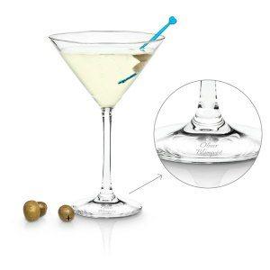 Martiniglas med personlig gravyr SE