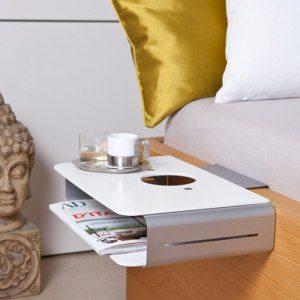 Mini-nattduksbord med eller utan personligt tryck