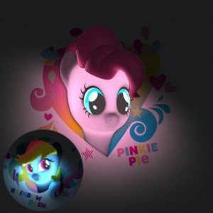 My little Pony 3D nattlampa