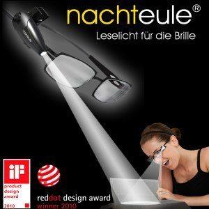 Nachteule®, das geniale LED-Leselicht