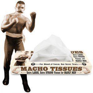 Näsdukar för machomän