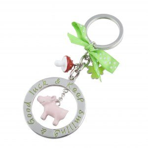 Nyckelring gris