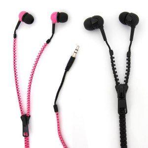 Originelle Reißverschluss-Kopfhörer