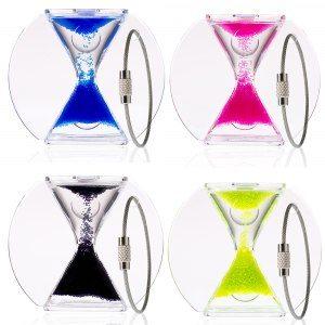 Paradoxalt timglas med nyckelring