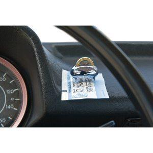 """Parkeringsbiljett- och mynthållare """" från Philippi"""