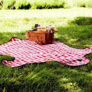 Picknickfilt- björn