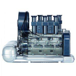 Porssche-byggsatsmotor att bygga själv