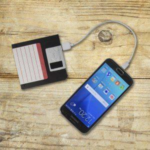 Powerbank i diskett-design  - 2500mAh