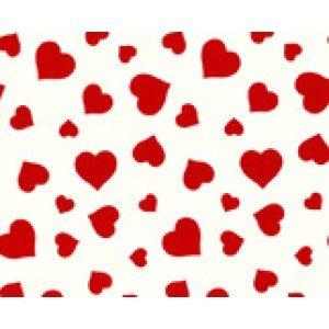 Presentpapper hjärtan