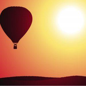 Privat luftballongtur - Gränna
