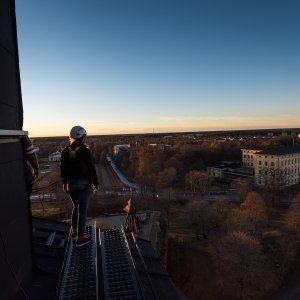 Privat takvandring på Uppsala slott för två