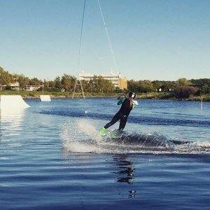 Privatlektion i wakeboard - Malmö