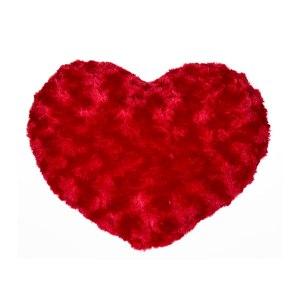 "Röd myskudde ""hjärta"""