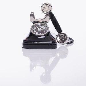 """Rolig klocka """"telefon"""""""
