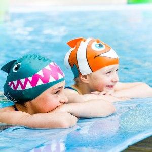 Roliga badmössor för barn