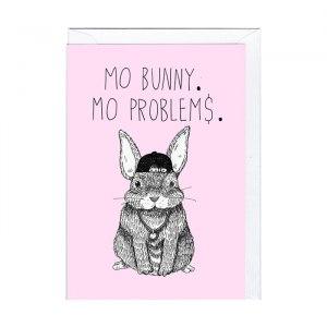 "Roligt kort ""Mo' Bunny ..."""