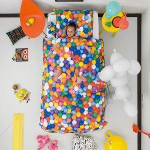 Sängkläder med bollhav