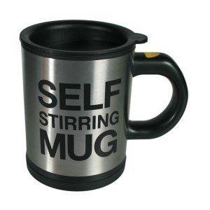 Självrörande kopp