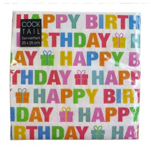 Servett - Happy birthday