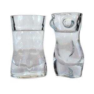 Shotglas - Man & Fru