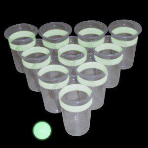 Självlysande Beer-Pong