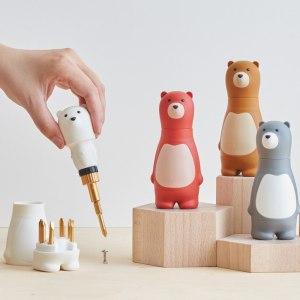 Skruvmejsel i björn-design