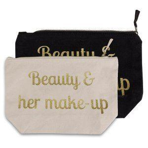 Kosmetiktasche mit persönlichem Aufdruck