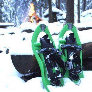 Snöskovandring med övernattning - Snowshoe