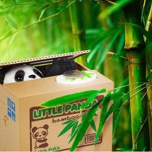 "Sparbössa ""panda-bank"""