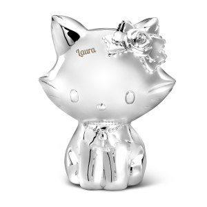 Spardosa med gravyr – Hello Kitty