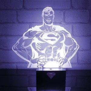 Stålmannenlampa