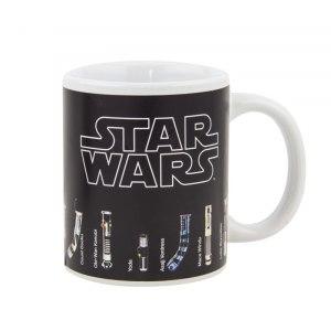 Star Wars-kopp med ljussablar
