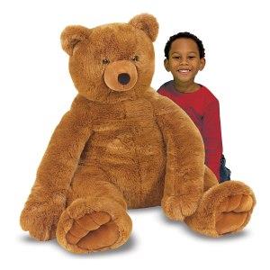 Stor teddybjörn