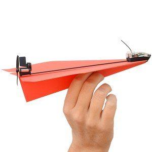 Styr dina pappersflygplan med din smartphone!