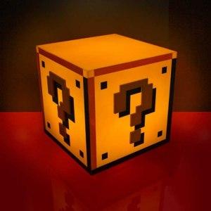 Super Mario 8-bitars lampa