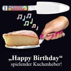 Tårtspatel med musikspelare