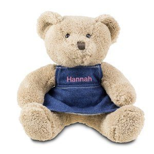 Teddybjörn med kläninng och namn