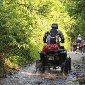 Terrängkörning med 4-hjuling – trail
