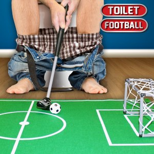 Toalettfotboll