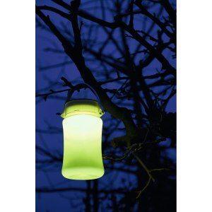 Vattentätt campinglampa