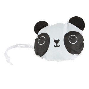 """Vikbar shoppingväska """"panda"""""""