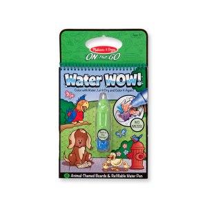 """Water Wow! Målarbok """"djur"""""""