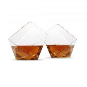 "Whiskygläser ""Diamond"" - Geschenkset"