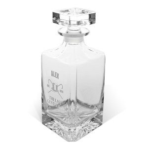Whiskykaraff i kristall