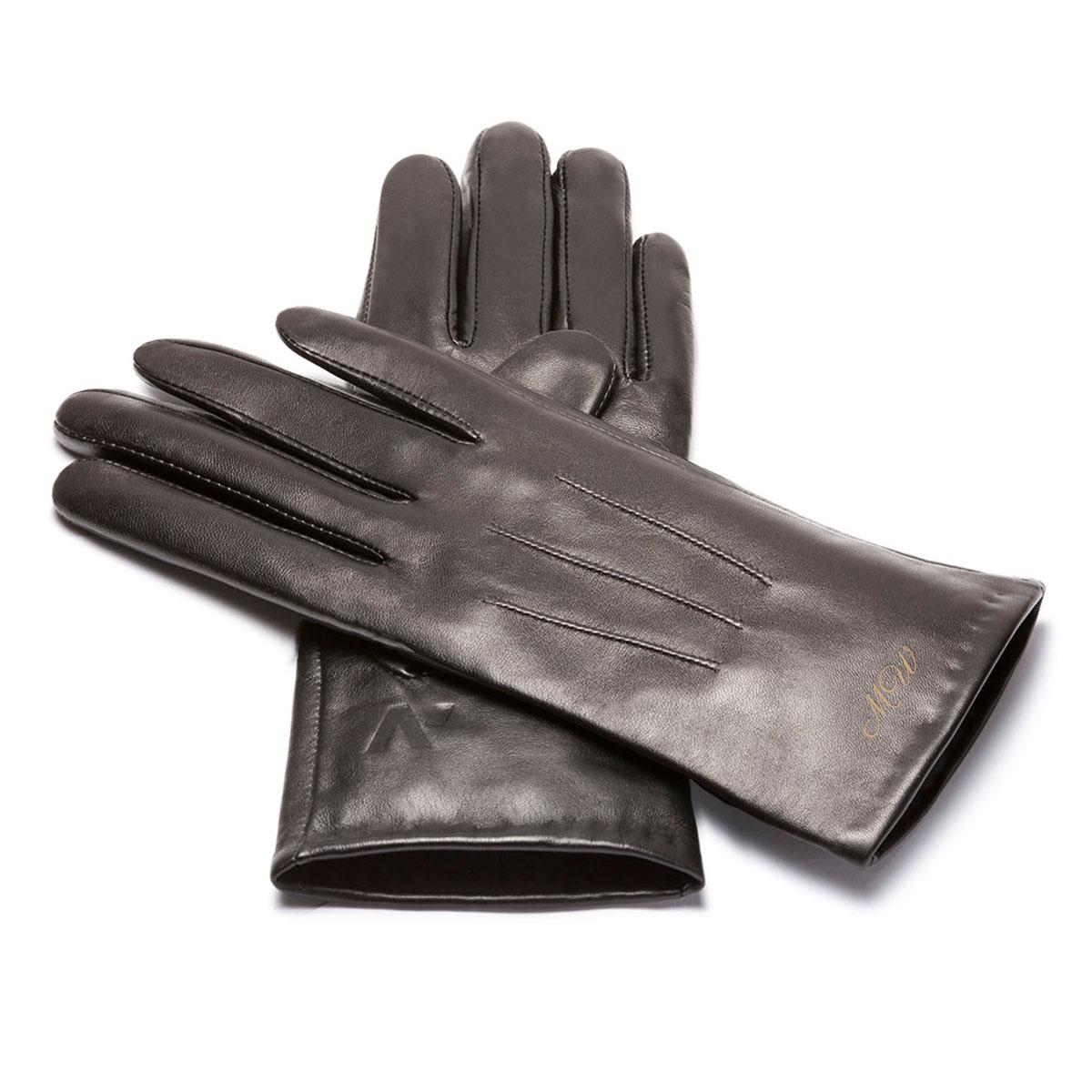 För henne: Smartphone-handskar med namn - S