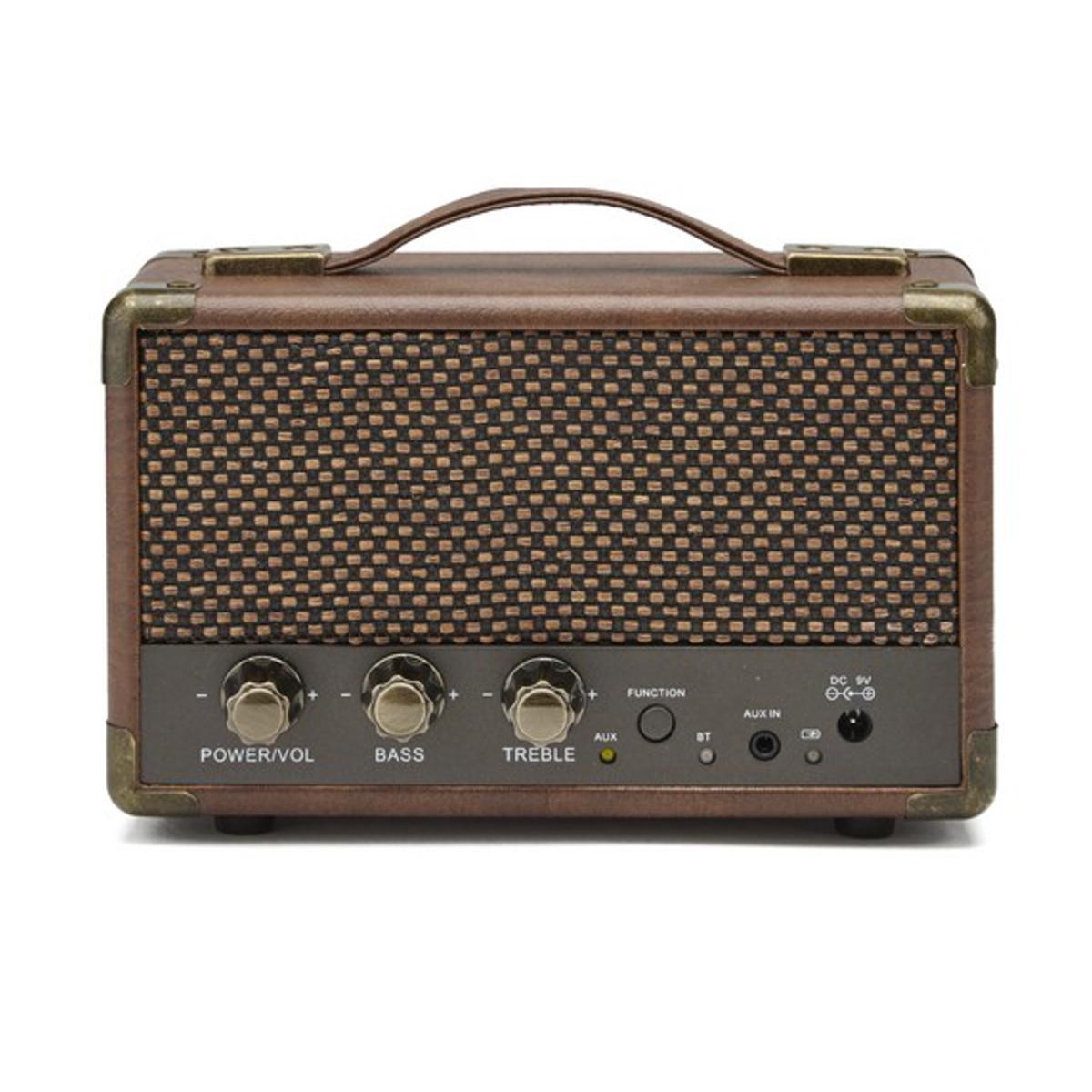 GPO Westwood Mini Bluetooth-högtalare - brun  a764be906ea23