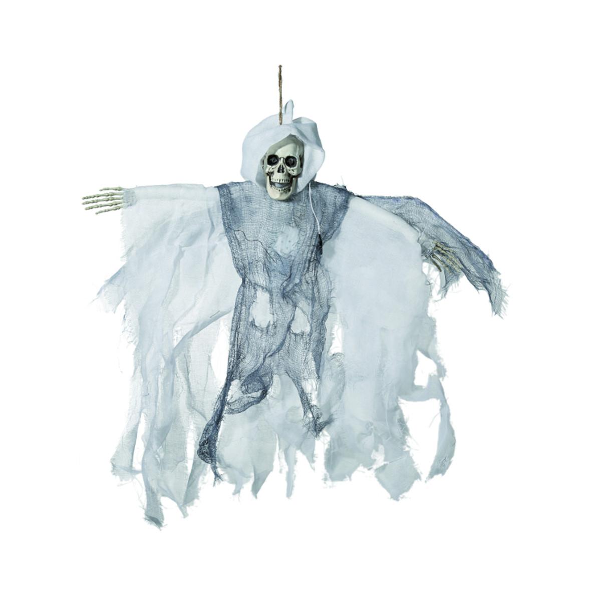 Halloween-figur ''liemannen'' - vit