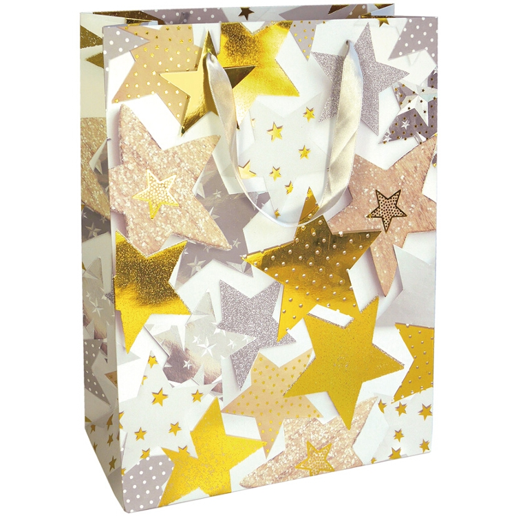 Julklappspåse ''Stjärnmix'' - stor