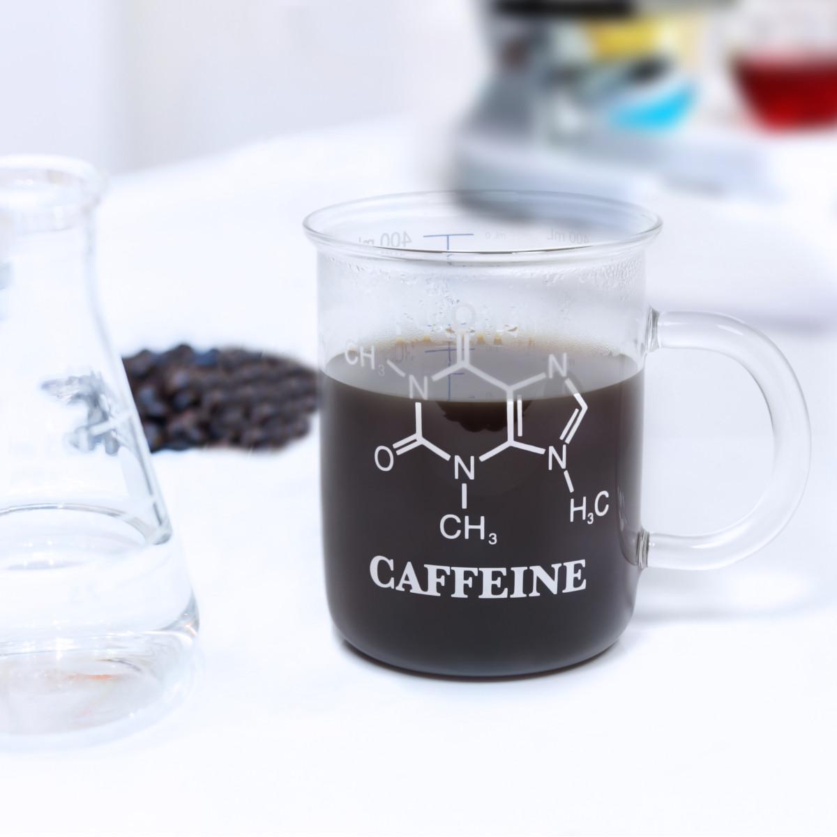 Mugg C8H10N4O2-koffein